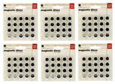 Basic Grey 6 Packs SM Magnetic Snaps Adhesive SUPER STRONG-Thin 60 pair Video
