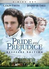 Pride and Prejudice Mini-Series (Colin Firth, Jennifer Ehle) NEW 2-DISC DVD SET