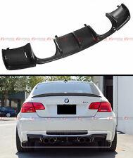 V STYLE FULL SIZE CARBON FIBER REAR BUMPER DIFFUSER FOR BMW E92 E93 M3 2DR COUPE