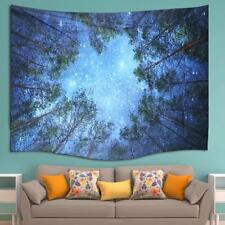 Forest Tree Indian Wall Hanging Bohemian Hippie Wall Poster Tapestry Decor Z