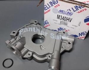 Melling M340HV High Volume Oil Pump 2004-14 Ford 4.6 5.4 VIN V F150 Expedition