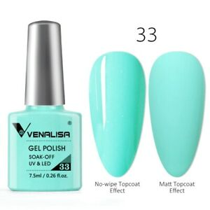 Venalisa Neon Gel Polish Varnishes Hybrid Nails For Manicure 7.5ml Semi Permanen