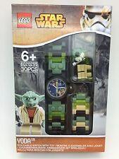 LEGO Star Wars Yoda With Mini-Figure Link Kids Watch 8020295 New