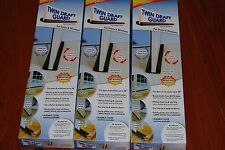 Lot Of 6pc Twin Door Draft Dodger Guard  Stopper Energy Saving Doorstop