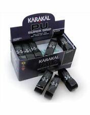 Karakal PU Super Grip Badminton Tennis Squash Racket Grip x 1 - Black