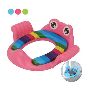 Baby Kids Toilet Seat Training Toddler Child Safe Potty Chair Tool Trainer