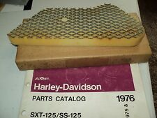 1975 HARLEY AERMACCHI  SXT-125CC AIR FILTER ELEMENT  #29039-75P   AMF