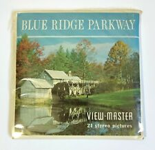 Vintage Viewmaster A 855 Blue Ridge Parkway N. Carolina Sawyers Complete Cello