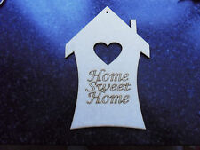 home sweet home mdf plaque . Home Decorations