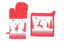 Topflappen mit Weihnachtlichem Muster