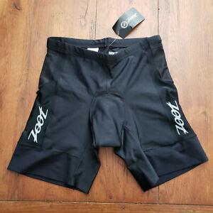 "ZOOT Men's XL Tri Shorts Black 7"" Inseam Padded Swim Bike Run Triathlon X-Large"