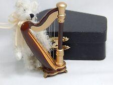 "World of Miniature Bears 3"" Mohair Harp Bear #1194 Collectible Miniature Bear"