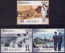 Malaysia 2007 200 Years of Police Force MNH