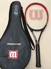 WILSON TOUR COMP TI MID PLUS TITANIUM L3 Racchetta Tennis Racket e fodero