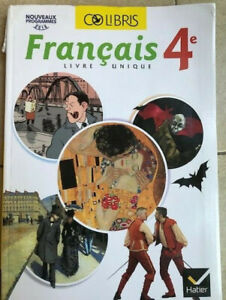 Manuel de français 4ème Nouveau programme