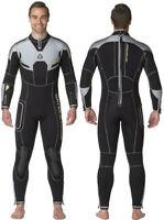 WATERPROOF W4 Mens 7mm MICRO CELL Neoprene Scuba Diving Semi Dry Wetsuit - ***