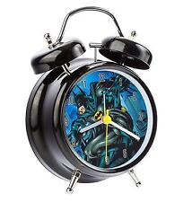 Batman DC Comics - Twinbell Alarm Clock - *BRAND NEW*