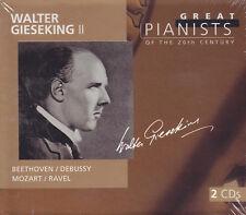 Walter Gieseking II - 2 CD-Beethoven/Debussy/Mozart/Ravel (NUOVO)