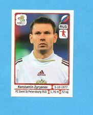 PANINI-EURO 2012-Figurina n.125- ZYRYANOV - RUSSIA -NEW-WHITE BOARD