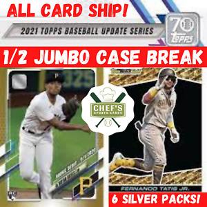KANSAS CITY ROYALS - 2021 TOPPS UPDATE BASEBALL- 1/2 JUMBO CASE (3BOX) BREAK #1