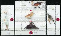Namibia 2016 MNH Herons of Namibia 5v Set Goliath Squacco Heron Birds Stamps