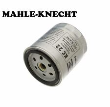 For Mercedes W123 240D 300D 300CD Fuel Filter Spin-on Type MAHLE-KNECHT
