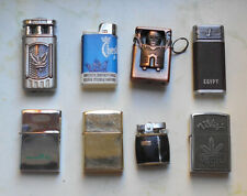 8 Old Lighters /4x Petrol + 4x Gas/