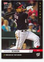 2019 Topps Now Future New Unscratched #44 Anthony Rendon Washington Nationals
