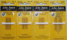 Sewing Supplies, New, Hand Sewing Needles, John James
