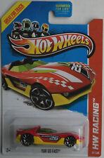 Hot Wheels Yur So Fast rot/gelb HW Racing Neu/OVP US-Card Auto Spielzeug Mattel