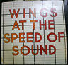 VINYL RECORD ALBUM WINGS AT THE SPEED OF SOUND PAUL McCARTNEY
