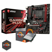 Kit Gaming MSI+ Cpu RYZEN 3 2200G + Ram 8gb 3000mhz Bundle Gaming Windows 10