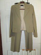 Patrizia Pepe Firenze tan jacket/pant suit size 44/8/M