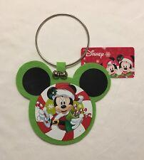 NEW Disney Santa Mickey Mouse Christmas Door Hanger Decoration - Official
