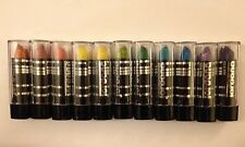 11 NEW JORDANA MADE IN USA GLITTER LIPSTICK LIP STICK NO DUPES - HARD TO FIND