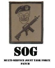 Special Forces / Mercenary Multicam Skull M4 / M16 generic Patch