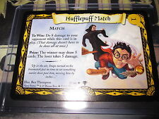 HARRY POTTER TRADING CARD TCG QUIDDITCH CUP HUFFLEPUFF MATCH 37/80 UNCO EN MINT