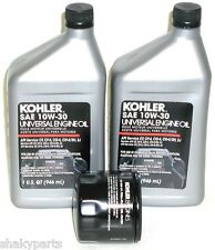 2qts. Kohler Engine Oil & Oil filter Kit (2)25 357 06 & 12 050 01