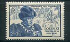 FRANCE, 1945, timbre 743, JOURNEE du TIMBRE, LOUIS XI, neuf**