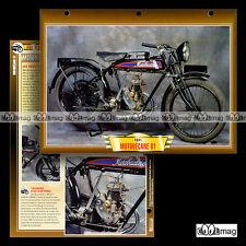 #108.06 Fiche Moto MOTOBECANE 100 MODEL B1 1925-1939 Motorcycle Card