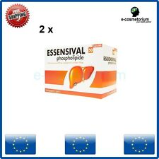 2 x ESSENSIVAL300 mg 50Caps Liver Detox Improved Equivalent Essentiale Forte
