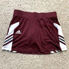 New Addidas Women Climalite Athletic Maroon Skirt/shorts