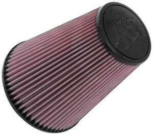 K&N RU-5046 Universal Clamp-On  Air Filter