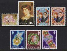 Jersey 1986 x 3 sets fine fresh MNH