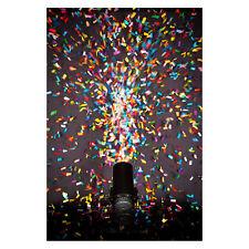 4x Chauvet Funfetti Shot Refill Pack FRC Multi-Colour Confetti NO CANNON MACHINE