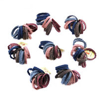 10Pcs Lot Kids Girl Elastic Rope Hair Ties Ponytail Holder Head Band Hairbands