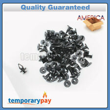 50Pcs Cowl Fender Nylon Liner Clips Push Pin Retainer For Ford Hummer GM Torrent
