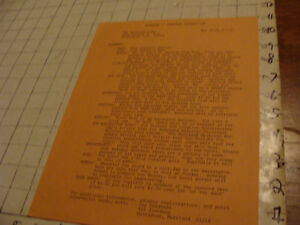vintage Original SF paper: DISCLAVE-1971 info sheet for the CONVENTION scarce