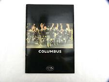 Columbus Tubing catalog Genius Tsx Max Slx Sl Vintage Bike Tubing Nos
