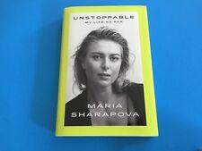 Maria Sharapova Tennis Wimbledon Signed Auto Hard Copy Book First Edition